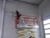 Brandschutzanstrich in einer Industriehalle 3