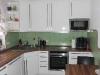 Innenraumgestaltung Spachteltechnik anstatt Fliesen im Küchenbereich